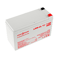 Аккумулятор гелевый LPM-GL 12V - 7 Ah, фото 1