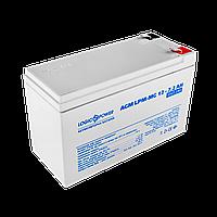 Аккумулятор мультигелевый AGM LogicPower LPM-MG 12 - 7,2 AH, фото 1