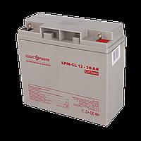 Аккумулятор гелевый LPM-GL 12V - 20 Ah, фото 1