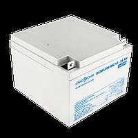 Аккумулятор мультигелевый AGM LogicPower LPM-MG 12 - 26 AH, фото 1