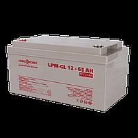 Аккумулятор гелевый LogicPower LPM-GL 12 - 65 AH, фото 1