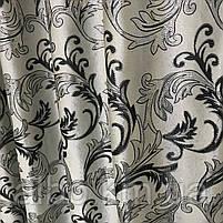 Ламбрекен со шторами в комнату спальню, ламбрекен на карниз для прихожей зала, шторы с ламбрекеном для зала, фото 7
