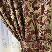 Набор штор с лабрекеном для спальни зала кухни, ламбрекен в гостиную, ламбрекен для спальни, ламбрекен для, фото 4