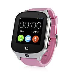 Детские умные GPS-часы GW1000s розовые