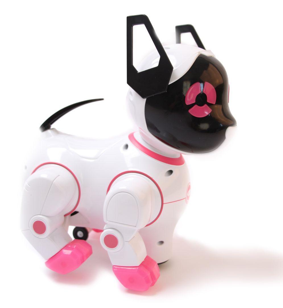 Робот-собака Smart Dancer Розовая