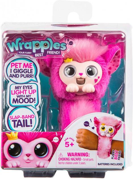 Интерактивный браслет зверек Принцесса Wrapples Slap Bracelets Princeza 28811