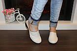 Шлепанцы сабо женские бежевые натуральная кожа на небольшом каблуке Б250, фото 3