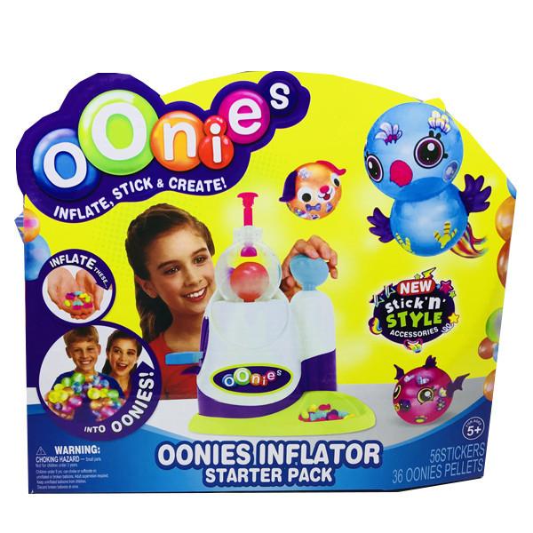 Интерактивная игрушка Конструктор для создания игрушек Oonies Волшебная фабрика 36 заготовок