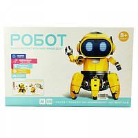 Интерактивный умный Робот конструктор Тобби с датчиками (Tobbie Robot) 3D Умный робот для детей светящийся