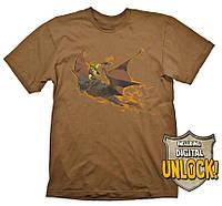 Футболка Gaya DOTA 2 T-Shirt - Batrider + Ingame Code, XL