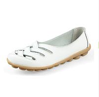Туфли балетки белые женские натуральная кожа Б777, фото 1