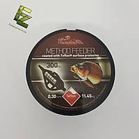 Леска карповая Carp Expert Method Feeder Teflon Coated Black 300м 0.25мм 8.35кг