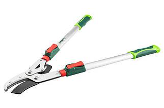 Ножиці для обрізки гілок Verto - 670-970 мм x 45 мм контактний (15G259), (Оригінал)