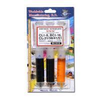 Набор водорастворимых чернил;  цвет: Cyan, Magenta, Yellow;  расфасовка: 3шт x 20 мл