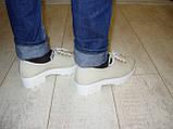 Туфли женские бежевые Т453, фото 6