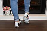Кроссовки цветные белые Т474, фото 8