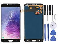 LCD дисплей, модуль, тачскрин экран для Galaxy J4 (2018) J400F / DS, J400G / DS black