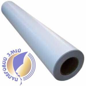 Широкоформатна поліетиленова плівка Backlit біла, матова, 200мкм, 1070 мм х 30 м
