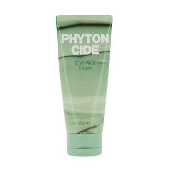 Маска-пенка для лица с очищающим и освежающим действием A'Pieu Phytoncide Clay Pack To Foam
