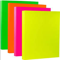 Бумага для принтера цветная, матовая, самоклейка А4, цвета неоновые, разные. Цена за 1 лист