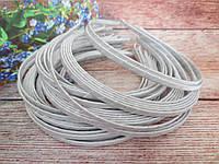 Обруч металлический обмотанный лентой, БЕЛЫЙ, 0,6 см