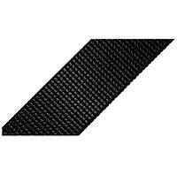 Лента ременная 100% Полиамид 25мм цв черный (боб 50м) р 3038 Укр-з