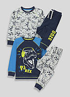 Трикотажные пижамы с динозаврами Маталан для мальчика (поштучно)