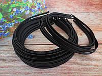 Обруч металлический обмотанный лентой, ЧЕРНЫЙ, 0,6 см