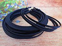 Обруч металевий обмотана стрічкою, ТЕМНО-СИНІЙ, 0,6 см