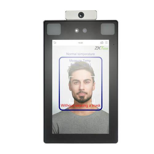 Противоэпидемический бесконтактный биометрический терминал ProFaceX-TD