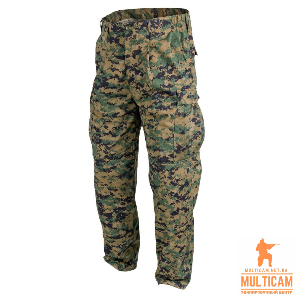 Штани Helikon-Tex® USMC Pants - PolyCotton Twill - USMC Digital Woodland