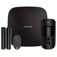 Комплект охранной сигнализации Ajax StarterKit Cam Black (16582.42.BL1)