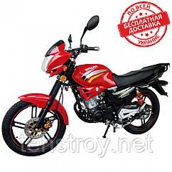 Мотоцикл SPARK SP200R-25i (черный, красный, синий, оранжевый, зеленый) + Доставка бесплатно