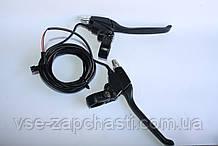 Ручки тормоза электро с откл мотор-колеса пара 36/48 вольт