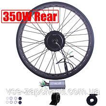 Полный Электро набор для велосипеда FATBIKE PYMOTOR+ 350w акб 15Ач, Pas, газ, контроллер