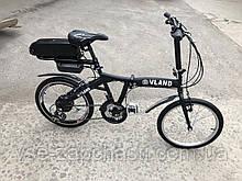 """Электровелосипед складной + """"Vland"""" 350W 10Ач 48V e-bike"""