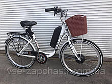 Электро велосипед Lady 350W Акб 48V на 10ah, e-bike 40км/ч редукторный