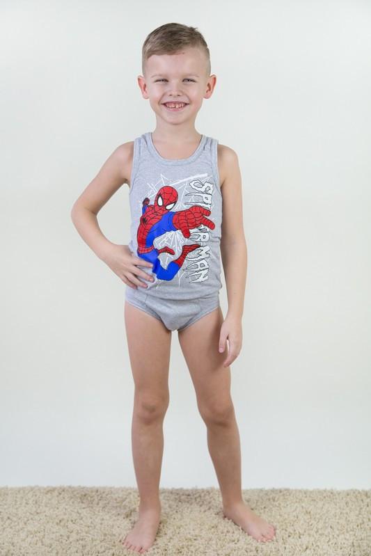 Комплект нижнего белья для мальчиков (разные цвета, рисунки)