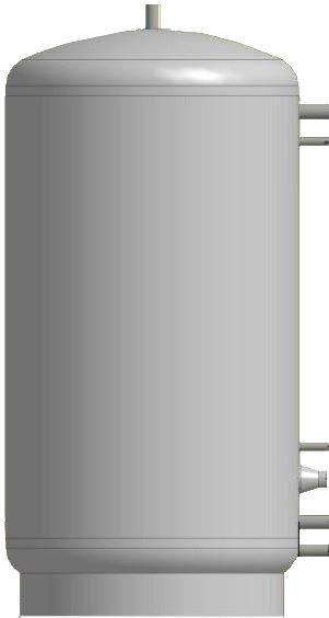 Теплоакумуляційний бак KUYDYCH    ЕАМ-00-  750  без ізоляції (шт)
