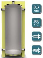 Теплоакумуляційний бак KUYDYCH    EA-00-  350        без ізоляції (шт)