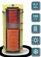 Теплоакумуляційний бак KUYDYCH    EA-11-1000 -1      без ізоляції (шт.)