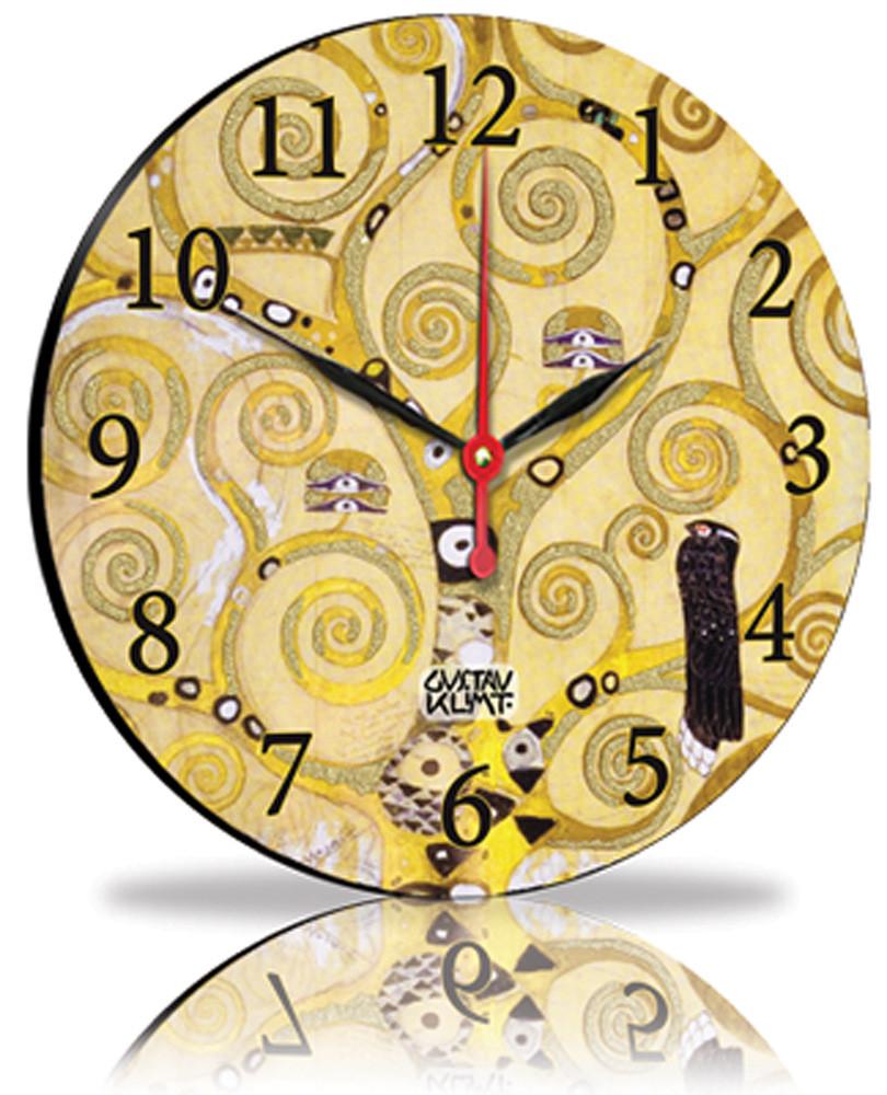 Настенные часы Декор Карпаты Желтый (25-12423)
