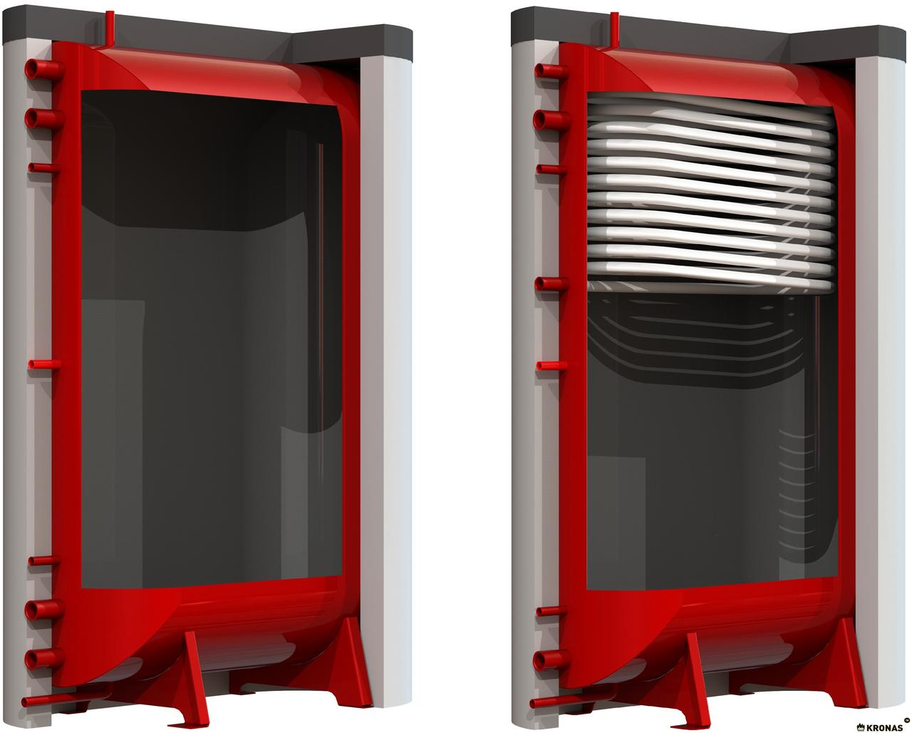 Теплоакумуляційний бак SWaG - 500 л (плоский) (шт)