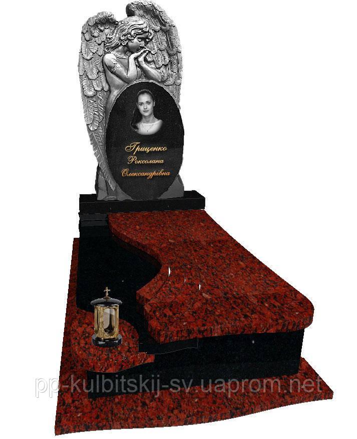 Пам'ятник гранітний одинарний фігурний FR 7006