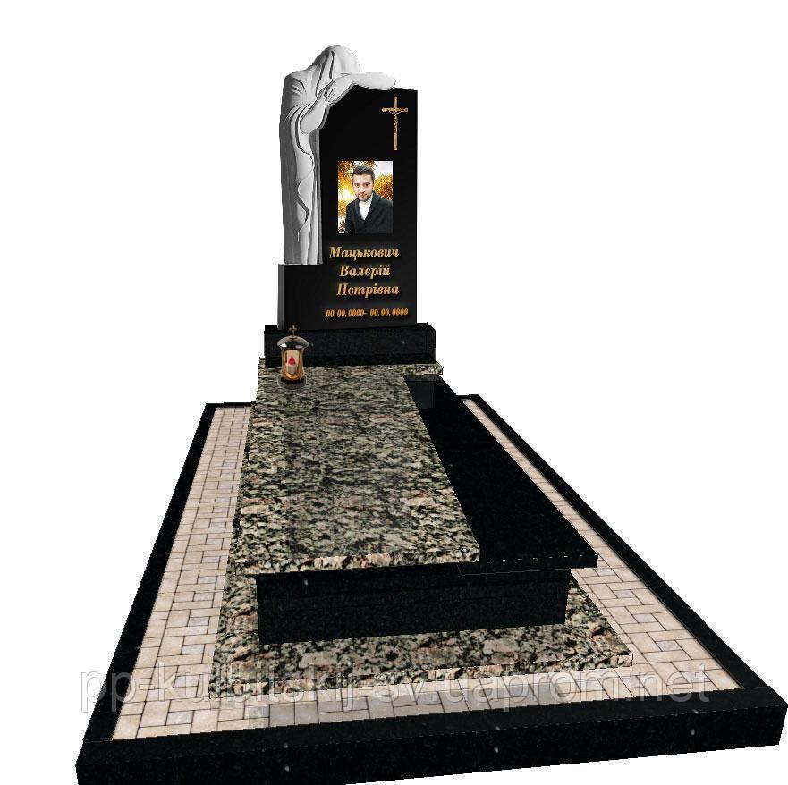 Пам'ятник різьблений на одного FR 7020