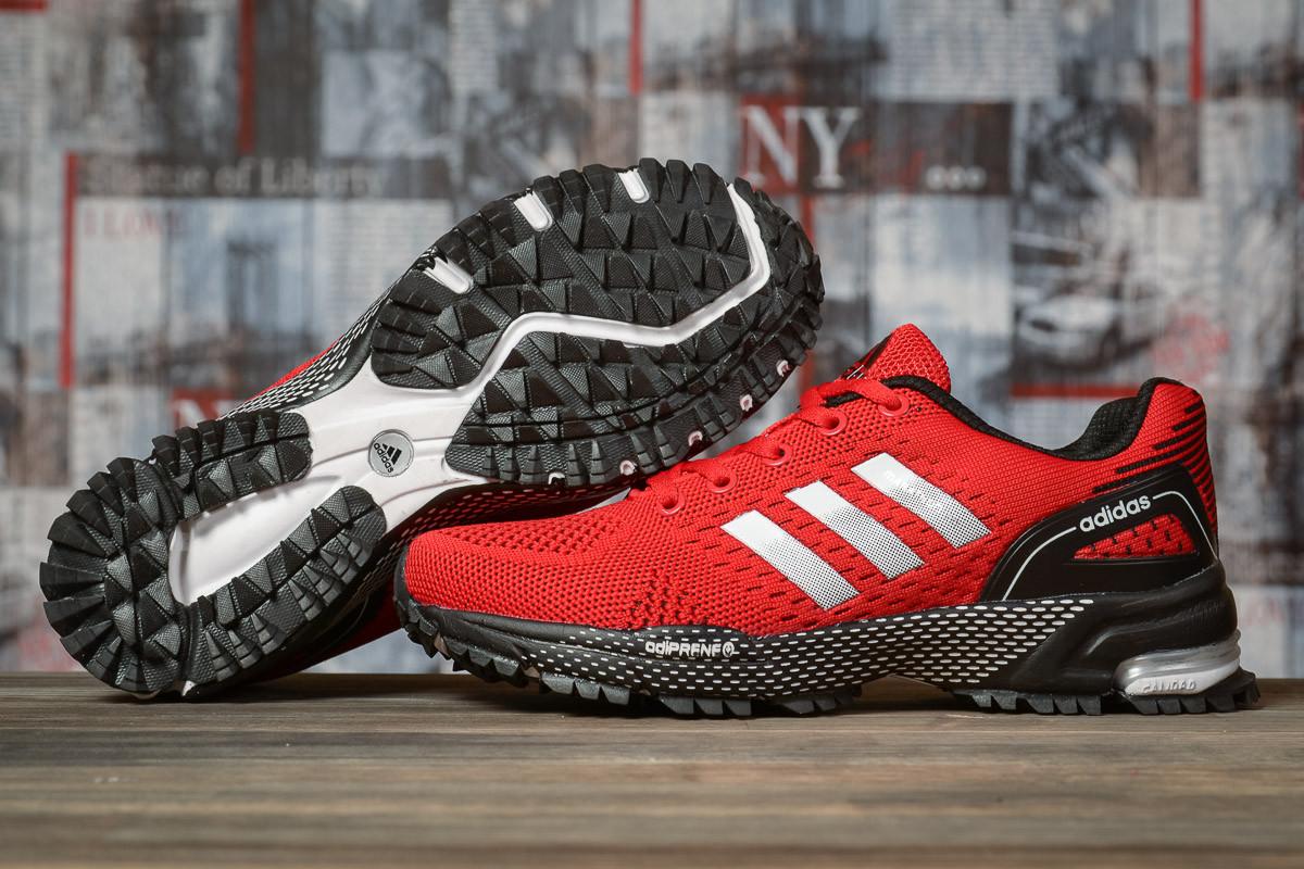 Купить Кроссовки женские Adidas Marathon TN красные, АдиДас Марафон, дышащий материал, прошиты. Код DO-16913 40