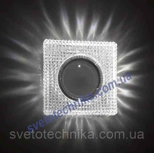 Точечный Led светильник с синей подсветкой 7791