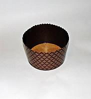 Форма для пасхи бумажная темно-коричневая 150х100, фото 1