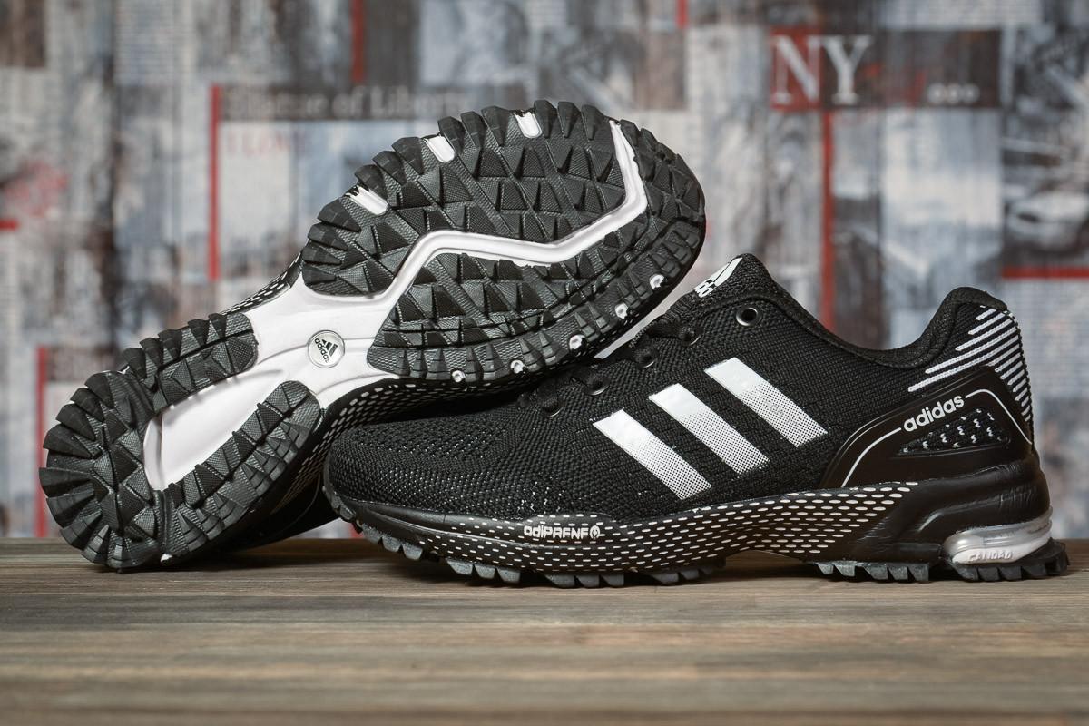 Купить Кроссовки женские Adidas Marathon TN черные, АдиДас Марафон, дышащий материал, прошиты. Код DO-16917 40