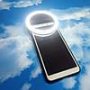 Светодиодная лампа для селфи с зажимом для телефона. Кольцевая лампа для смартфона. Вспышка для мобильного., фото 2